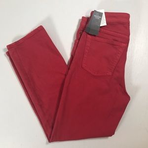 Abercrombie Fitch red jeans high waist 27/4R pants